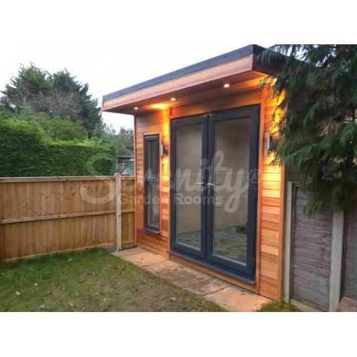 2.8/2.1 x 8.4 meter garden room in Northampton