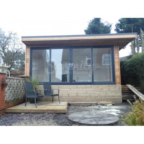4.8 x 2.5 meter garden room in Kirkby