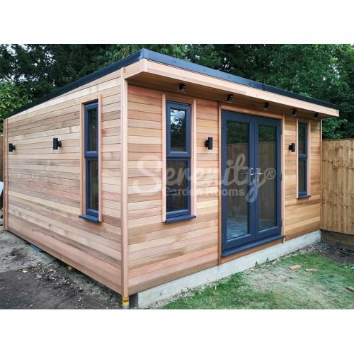4.5 x 4.5 meter Garden Room in Brookmans Park